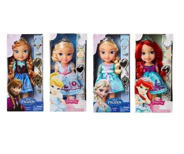 Disney Princess Doll Height 15 inch 1 Among Elsa Cinderella Ariel Anna | eBay