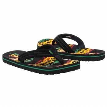 Reef Ahi Tod/Pre/Grd Sandals (Rasta 2) - Kids' Sandals - 21.5 M | Kids ...