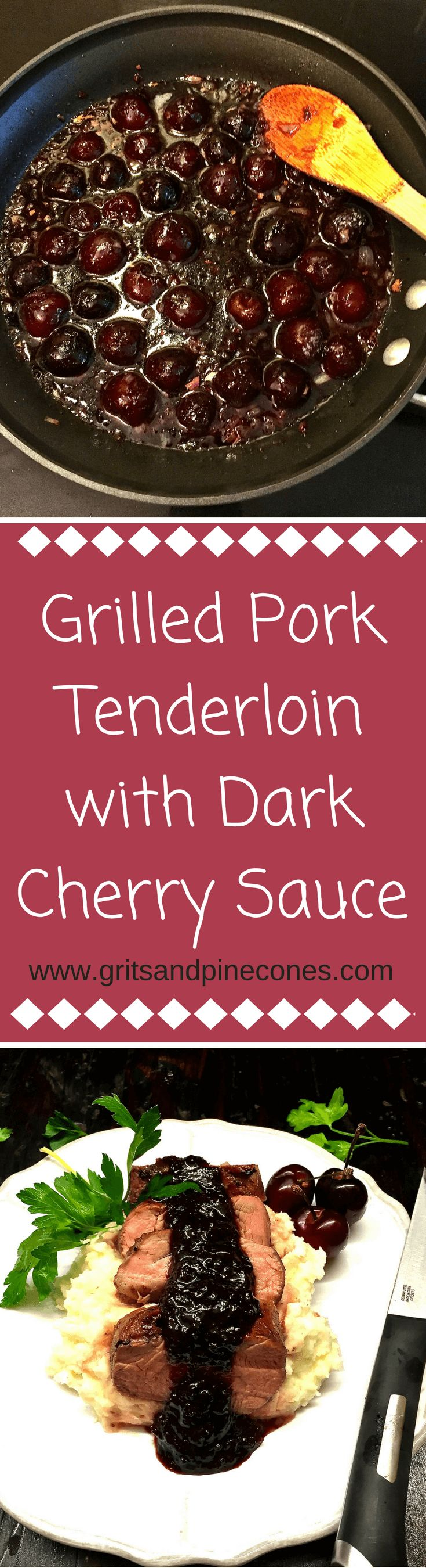 Imagine if you will, tender, juicy and delectable grilled pork tenderloin…