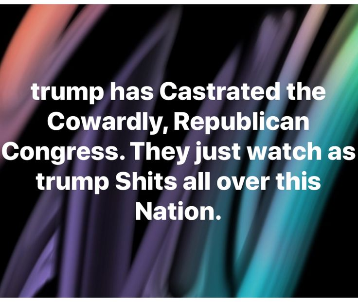 In my 60's I don't think I've ever seen My Beautiful Country in such Disarray. It troubles me deeply that Republicans Despise trump behind closed doors but won't do what's best for Our Country and call him out for the Total Embarrassing Disaster He is. This is just Awful.