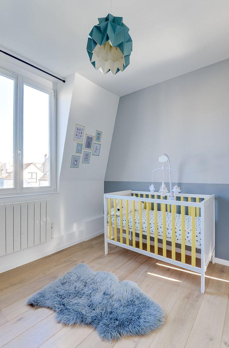 Architectes d'intérieurs, Agence Transition interior Design, Architectes: Margaux Meza et Carla Lopez Chambre bébé chambre enfant
