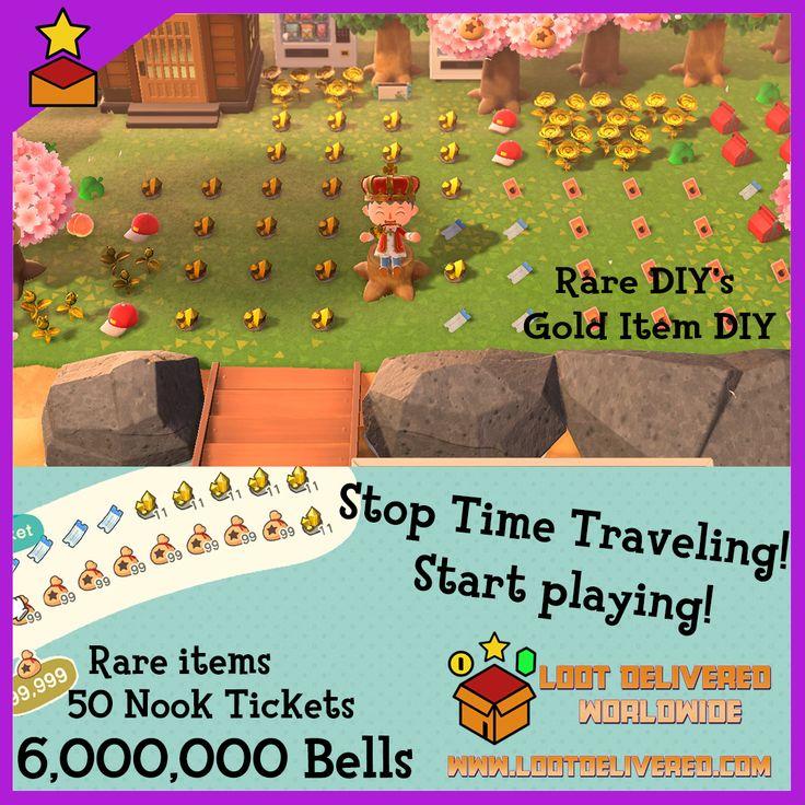 Animal crossing time travel loot