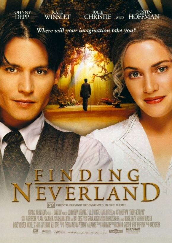 Finding Neverland - beautiful soundtrack too