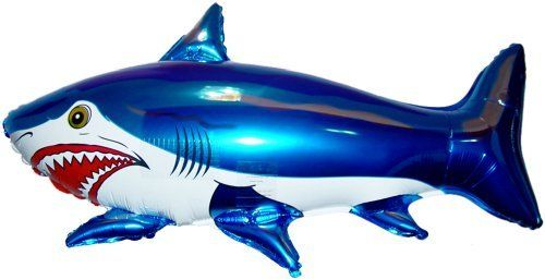 42' SHARK BALLOON (BLUE)   Amazing New HOVERING ANTI GRAVITY TOY   Free Floating, Flying Fish Animal Kingdom Under The Sea Birthday Party Favor. #SHARK #BALLOON #(BLUE) #Amazing #HOVERING #ANTI #GRAVITY #Free #Floating, #Flying #Fish #Animal #Kingdom #Under #Birthday #Party #Favor