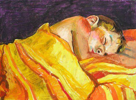 Filip 1, tłusty pastel na papierze http://www.alesztuka.com/klaudia_mostowik/filip_i #alesztuka #sztuka #rysunek #portret