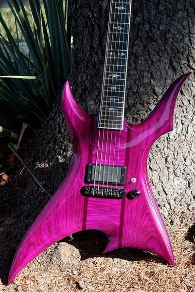 Blast Custom Shop: Neal Moser Basilisk Dave Fox Custom Electric Guitar