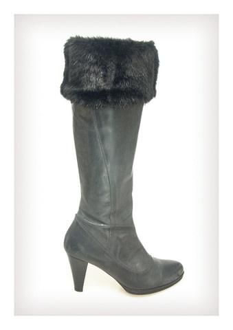 Black Mink Faux Fur