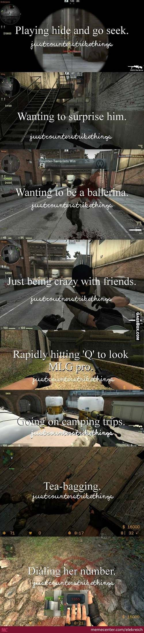 Just counter strike things #games, #console, #gamer, #funny, #lol, #fun, #humor, #comics, #meme, #gag, #box, #lolpics, #Funnypics,