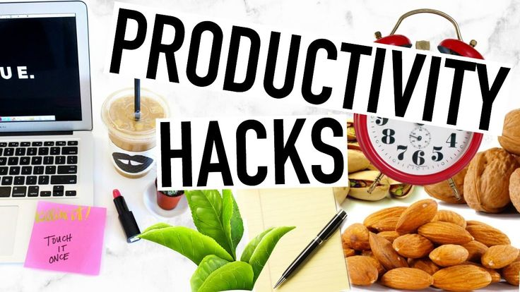 Productivity Life Hacks! Life Hacks Everyone Needs To Know!