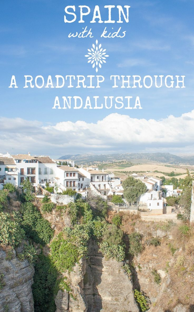 Spain with kids: Traveling by car through Andalusia, with stops in Jaen, Granada and Ronda - including a stay in a castle!  Family Travel | Tips | Destinations | Europe