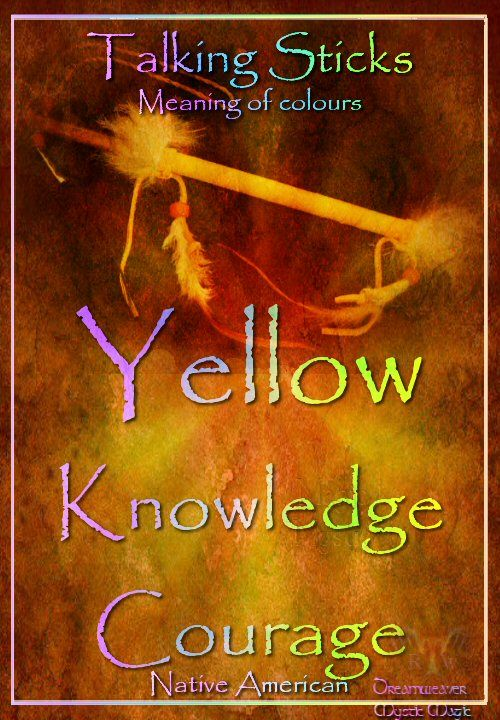 Yellow – Knowledge courage