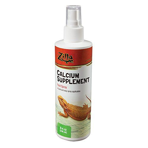 Be certain that prized reptiles enjoy the extra boost of healthy calcium a UVA and UVB light can't always provide. Use the convenient spray bottle to apply Calcium Supplement to any reptile foo...