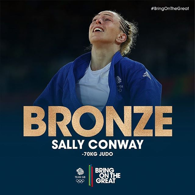 A BRILLIANT #BRONZE  for @sconway70! What an amazing day or Sally! Congrats…