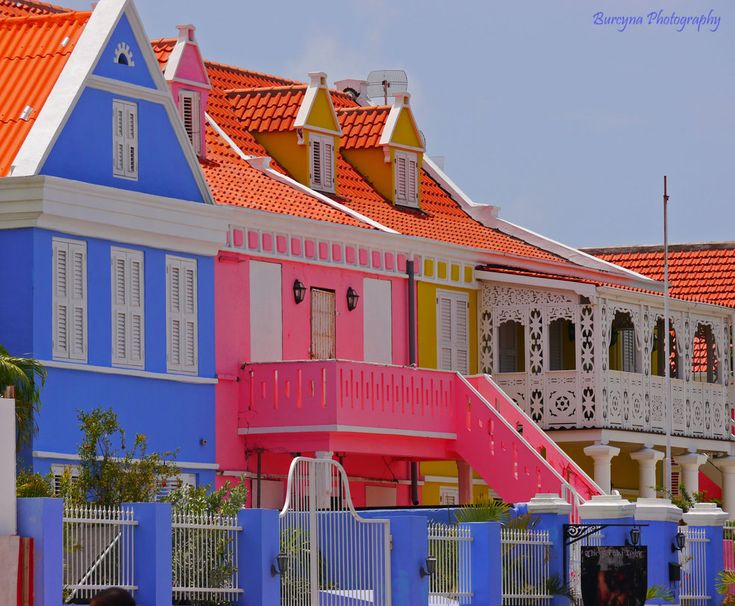 The colors of Curacao