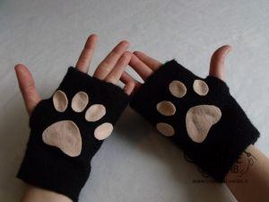 Tutorial per realizzare dei guanti da gatto fai da te velocissimi! diy kawaii neko carnevale halloween costume