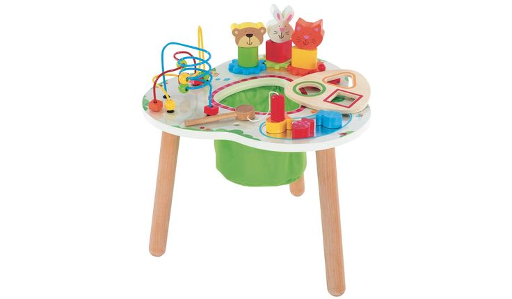 Wooden Activity Table 40 00 With Images Activity