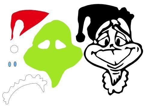 Download 213 best images about SVG Files | Grinch face svg