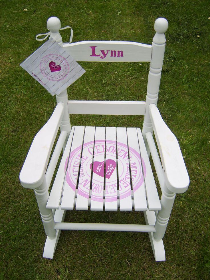 Voor Lynn is het een schommelstoeltje geworden.