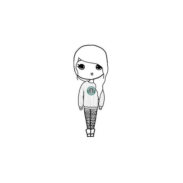 Pinterest ❤ liked on Polyvore featuring chibi and drawing