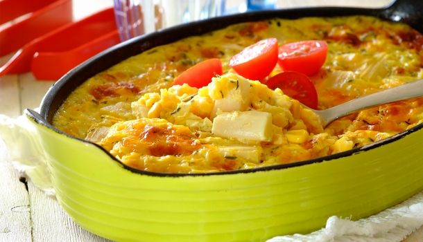 Corn and Asparagus Bake for the Braai