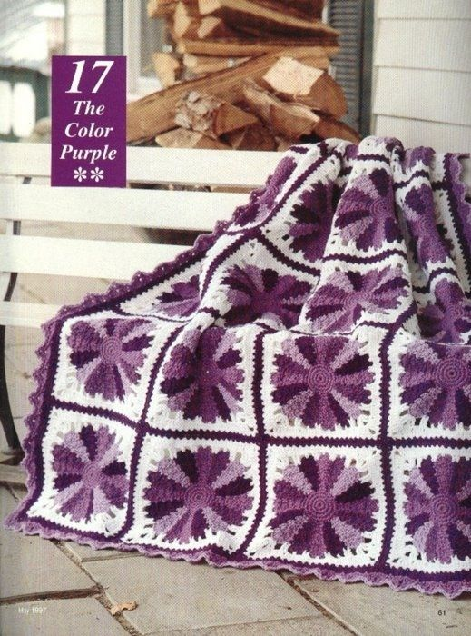 The Color Purple - free pattern