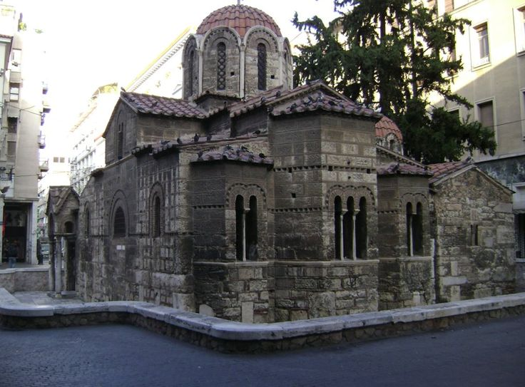Church of Panaghia Kapnikarea - Καπνικαρέα | Smile Greek