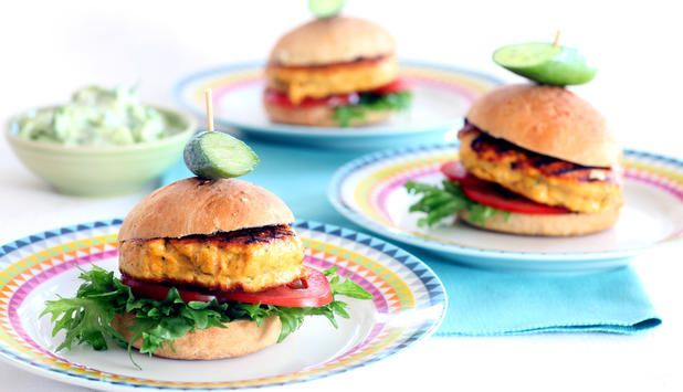 Norwegian Salmon Burger