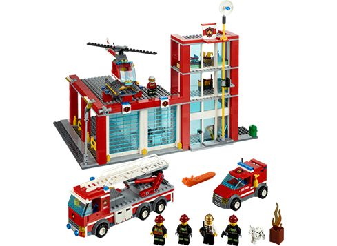 LEGO CITY 60004 Brandstation