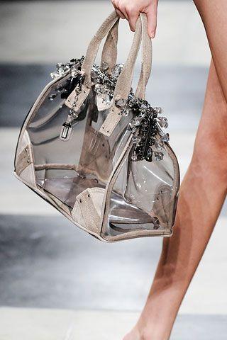 *.* Clear Prada Bag - so chic!,cheap prada handbags china ,cheap wholesale designer handbags china,cheap wholesale designer bags hub.