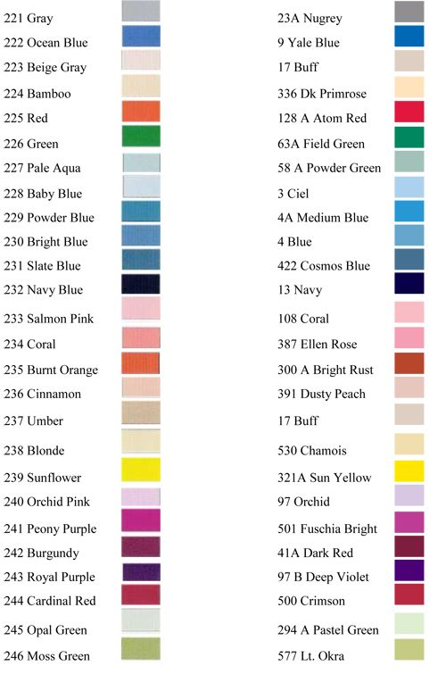Image Result For Janome Embroidery Thread Colour Chart Janome Embroidery Machine Embroidery