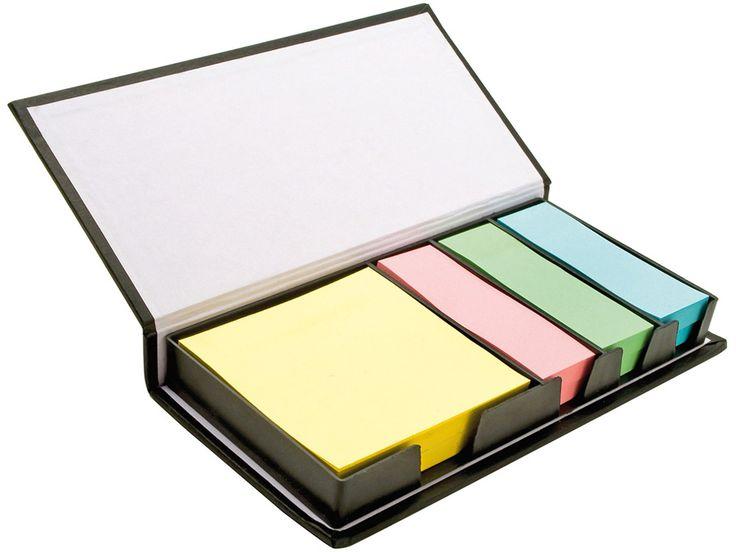 """Набор стикеров """"Mestral"""" Стикеры для заметок Mestral. Стикеры трех цветов: розовый, зеленый, синий и блок для заметок желтый."""