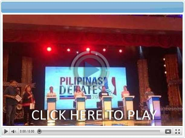 Pilipinas Debates 2016 - Pinoy Show Biz  Your Online Pinoy Showbiz Portal