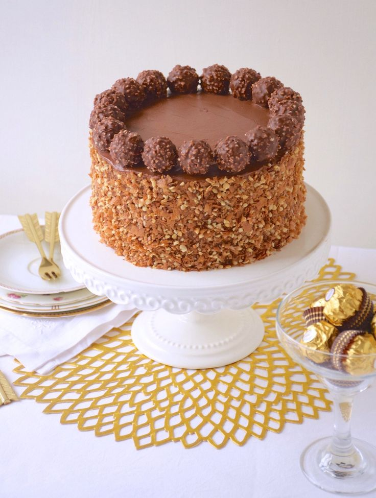 Ferrero rocher cake - Fashion cooking