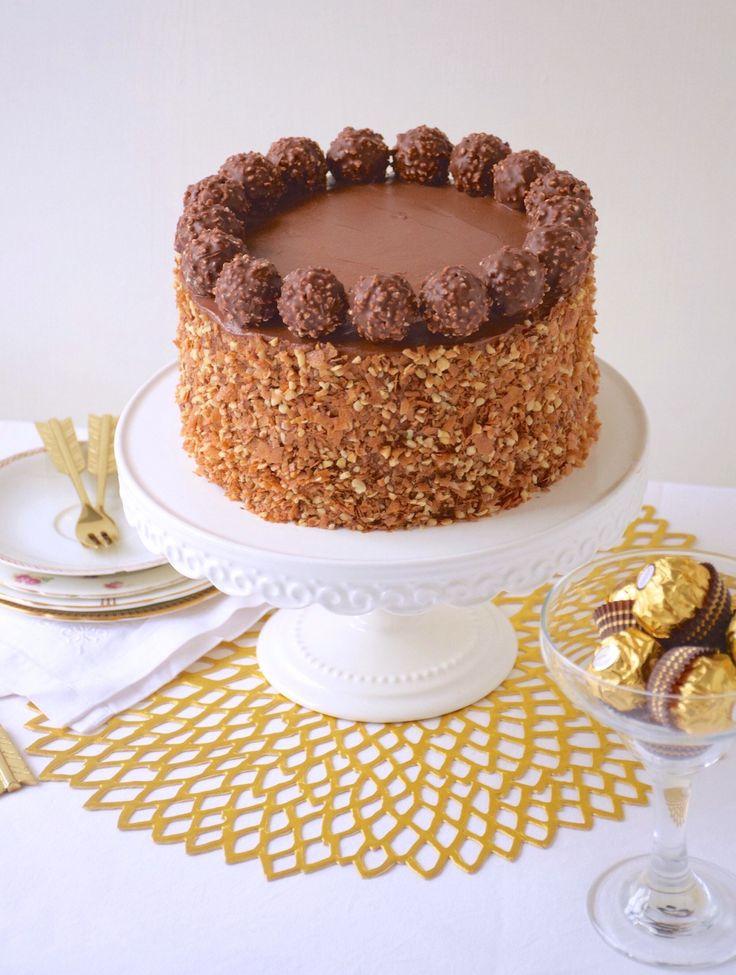 Ferrero rocher cake - Fashion cooking