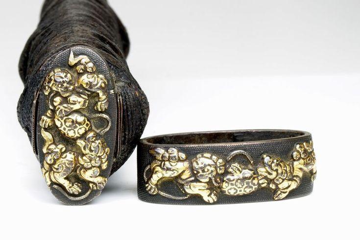 For sale: >420-year-old (16th century) katana, art maki-e scabbard, 83.6 cm sturdy katana, 102 cm with fittings