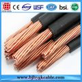ACSR Conductor PVC Aerial Insulated Cable Solid Electric Cable