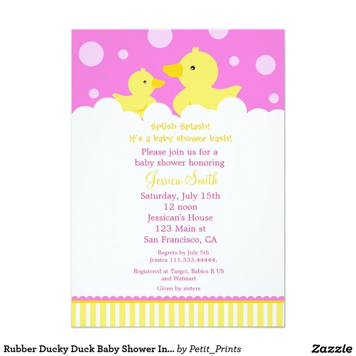 16 best Rubber Ducky Baby Shower Theme images on Pinterest | Baby ...