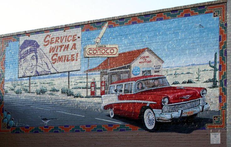 18 best building reuse gas station images on pinterest for Cleveland gas station mural