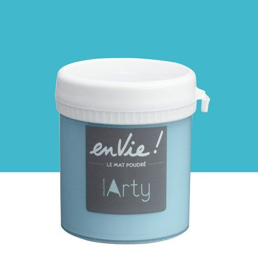 Testeur peinture bleu miami beach LUXENS Envie collection arty 0.075 l
