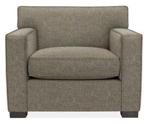 With Its Firm Seat Cushion, A Shallow Depth And Thick Welting Along The  Tight Back Cushions, The Dean Chair Combines Vintage Styling With  Comfortable ...