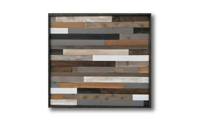 Reclaimed Wood Art Wall Sculpture Rustic by AlleyCatDesignSt