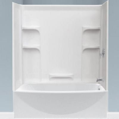 Delightful American Standard Ovation 5 Ft. Left Hand Drain Bathtub In Arctic White