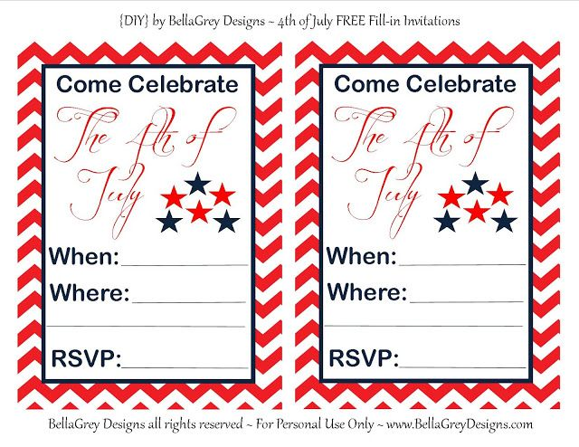 free printable july 4th clipart