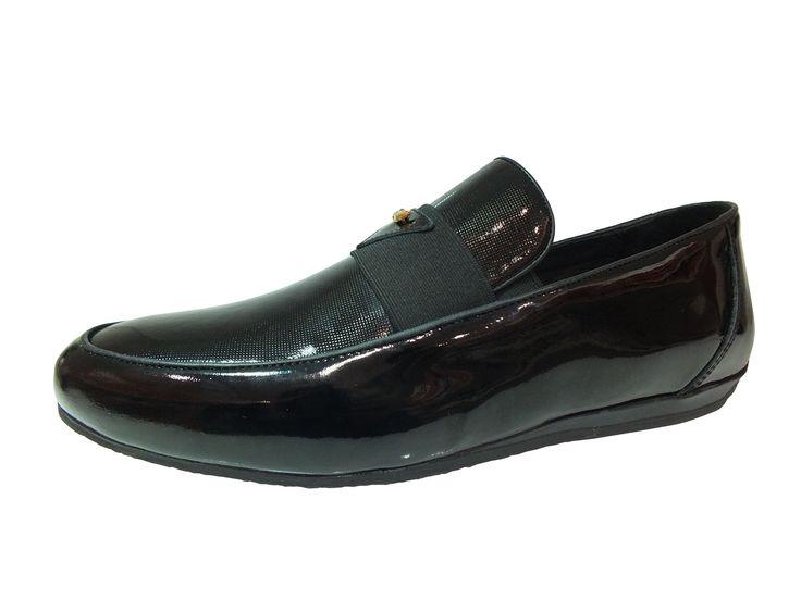 Hammerjack Marka Bağcıksız Siyah Rugan Erkek Ayakkabı, http://www.carikcim.com/hammerjack-14044-bagciksiz-siyah-rugan-erkek-ayakkabi