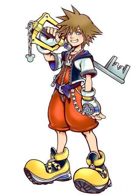 Sora kingdom hearts