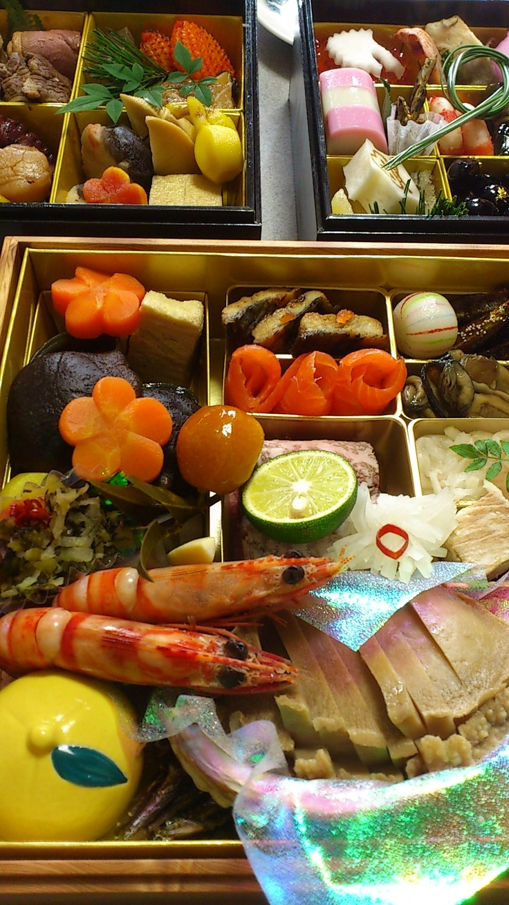 Traditional New Year food, Japan.
