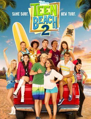 Teen Beach 2 (2015) Hindi Dubbed Full Movie 300MB Download Dual Audio
