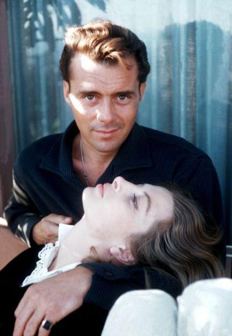 Capucine and Dirk Bogarde
