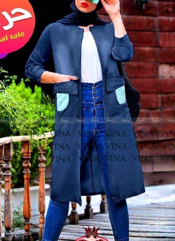 حراج مانتو جین وارداتی جهت خرید این محصول در پاساژ بر روی تصویر کلیک کنید Denim Jacket Fashion Jackets