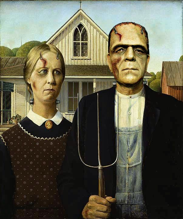 Whan Was The American Gothic Grant Wood Painted